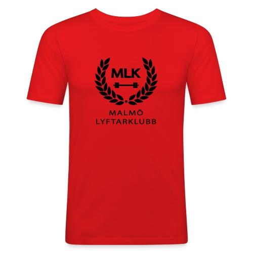TshirtSvart - Slim Fit T-shirt herr