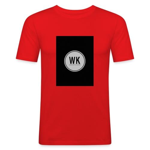 WienerKickerZ Logo - Männer Slim Fit T-Shirt