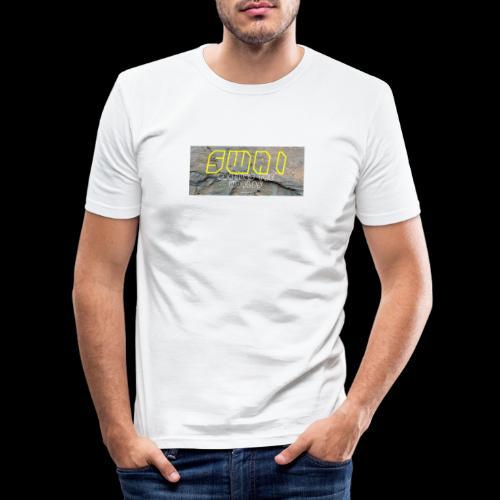 swai stoned yellow - Männer Slim Fit T-Shirt