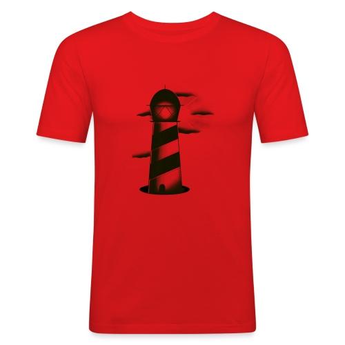 faro shirt - Maglietta aderente da uomo