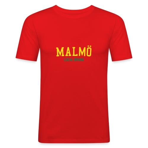 malmoe org - Slim Fit T-shirt herr