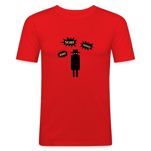 Scan! Xploit! Own! - Men's Slim Fit T-Shirt