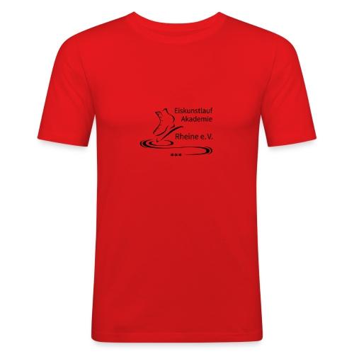 EARheine Logo schwarz - Männer Slim Fit T-Shirt