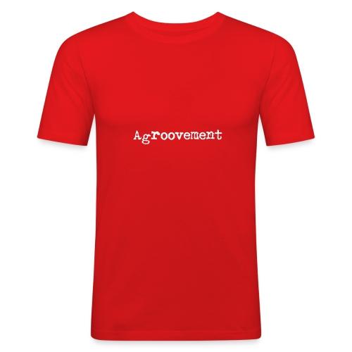 AGROOVEMENT - Männer Slim Fit T-Shirt