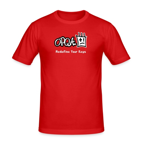 Logo OPQA - Camiseta ajustada hombre
