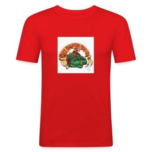 DiceMiniaturePaintGuy - Men's Slim Fit T-Shirt