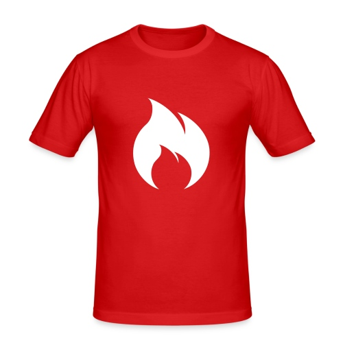 Rote Flamme - Men's Slim Fit T-Shirt
