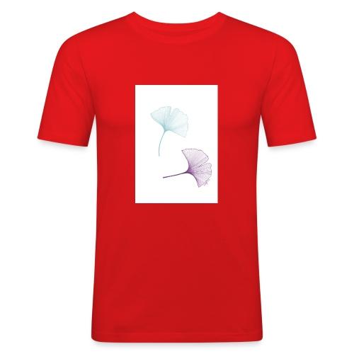 Blätter - Männer Slim Fit T-Shirt