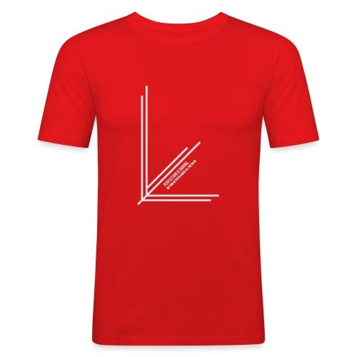 Perfection_Black - Mannen slim fit T-shirt