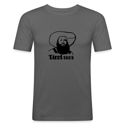 Andreas Hofer Silber1 - Männer Slim Fit T-Shirt