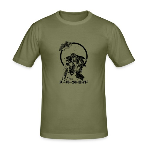 Interstellar Bounty Hunter - Miesten tyköistuva t-paita