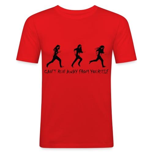 Can't run away - black - Slim Fit T-shirt herr