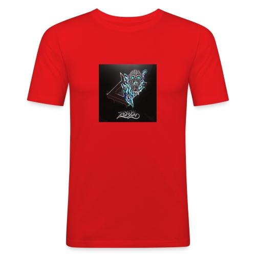 Space Zombii shirt logo design. - Camiseta ajustada hombre
