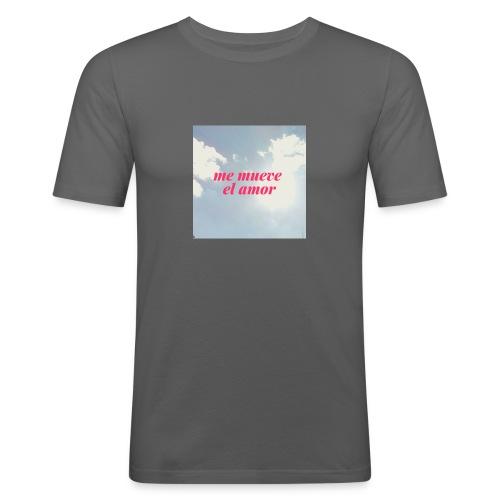 Me mueve el amor - Camiseta ajustada hombre