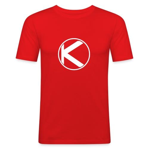 kreis rund - Männer Slim Fit T-Shirt