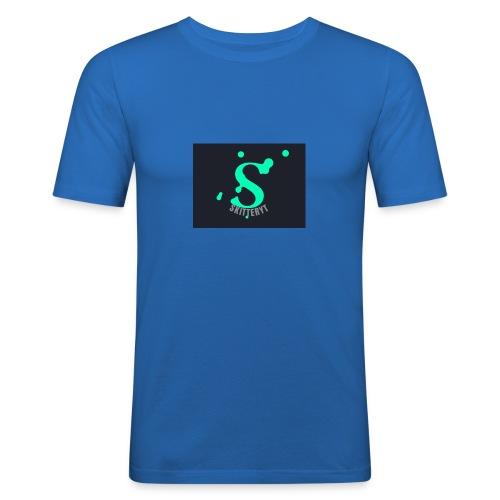 skitterYT - Slim Fit T-shirt herr