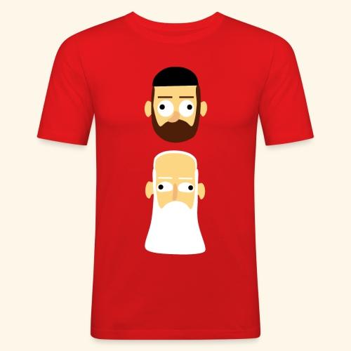Stille Willem en Leipe Leo - slim fit T-shirt