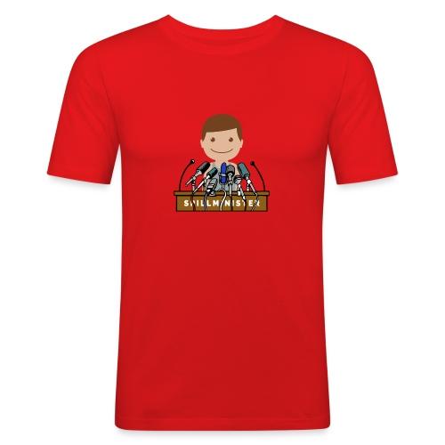 Spillminister logoen - Slim Fit T-skjorte for menn