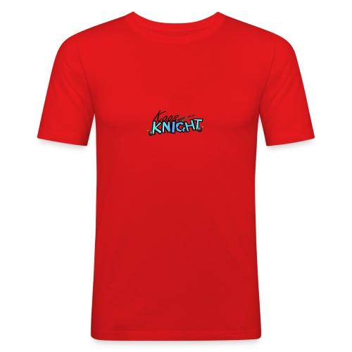 kaosknight Schriftzug by BirukDesign - Männer Slim Fit T-Shirt