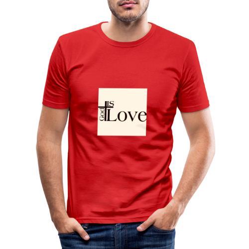 Good love - Men's Slim Fit T-Shirt