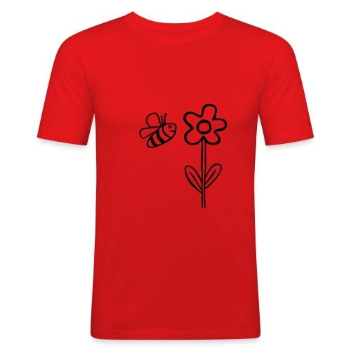 blume2 - Männer Slim Fit T-Shirt
