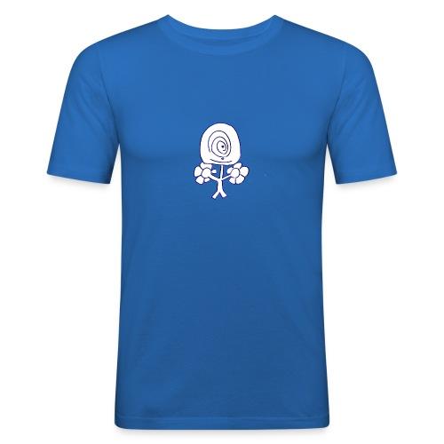 Poppetje 1 oog - slim fit T-shirt