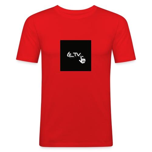 G_TV_ - Männer Slim Fit T-Shirt