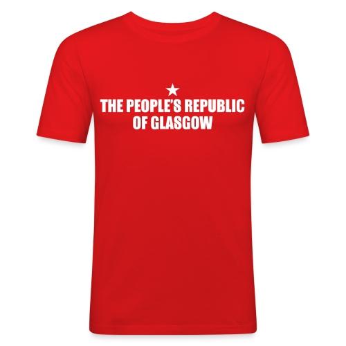 People's Republic Glasgow - Men's Slim Fit T-Shirt