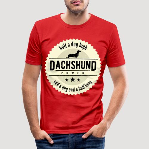 Dachshund Power - slim fit T-shirt