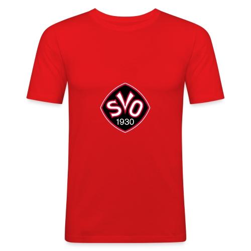 SVO Logo 1930 rot png - Männer Slim Fit T-Shirt