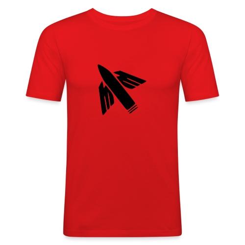 Ilmatorjuntamies - Miesten tyköistuva t-paita
