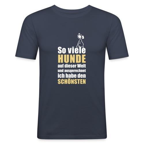 Vorschau: Der schönste HUND - Männer Slim Fit T-Shirt
