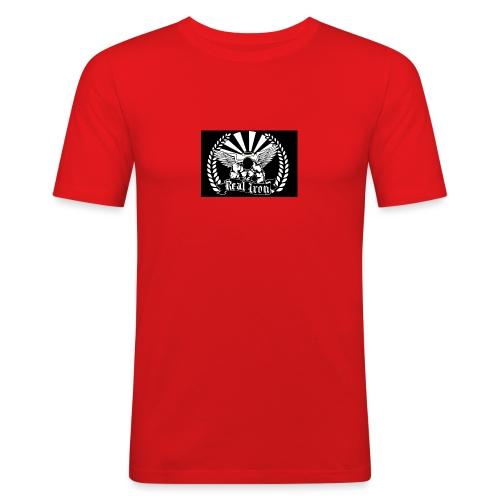 Logo Ironwear - Männer Slim Fit T-Shirt