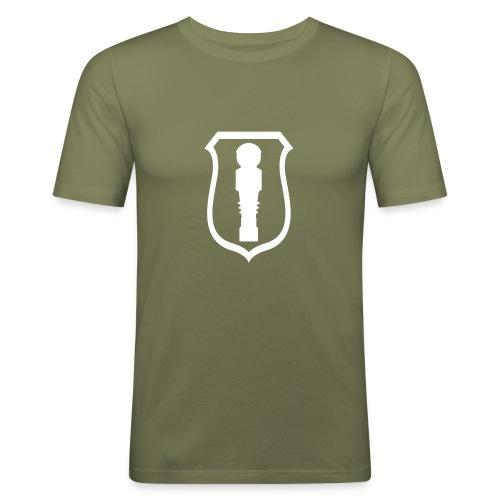 kicker_wappen - Männer Slim Fit T-Shirt