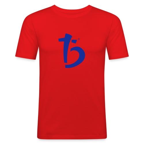 logo noir - T-shirt près du corps Homme