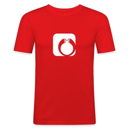 logo shirt03 - Männer Slim Fit T-Shirt