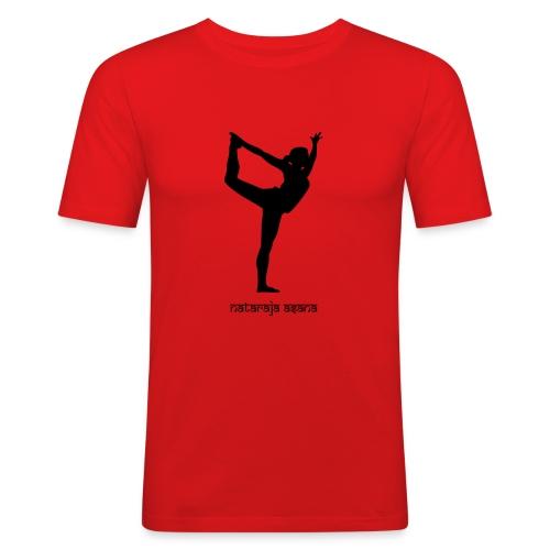 Yoga Nataraja Asana - Männer Slim Fit T-Shirt