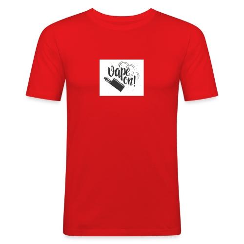 Mrvaper2016 vape on phone case - Men's Slim Fit T-Shirt