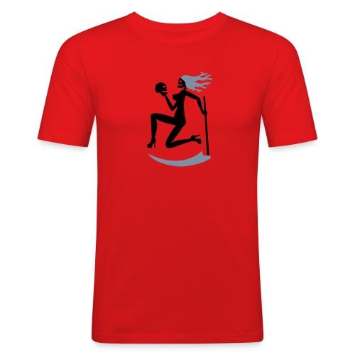 Tod (weiblich) - Männer Slim Fit T-Shirt