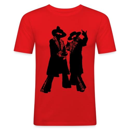 donenadcontour - Mannen slim fit T-shirt