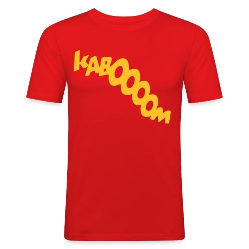 Kaboom - Men's Slim Fit T-Shirt
