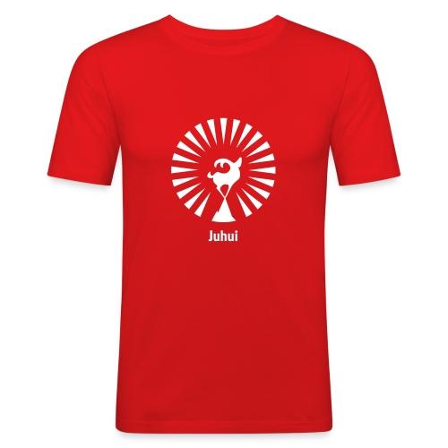 Juhui - Männer Slim Fit T-Shirt