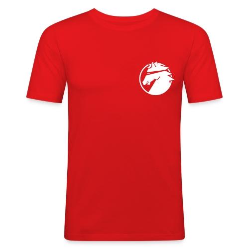 ninja_logo_sv - Slim Fit T-shirt herr