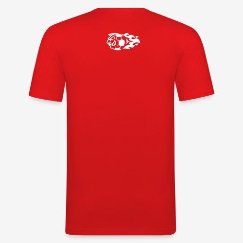GHB logo white - Men's Slim Fit T-Shirt