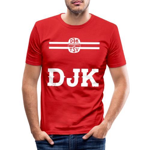 DJK BRUSTRING - Männer Slim Fit T-Shirt