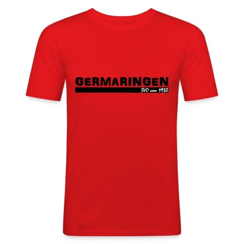 SVO-schwarz - Männer Slim Fit T-Shirt