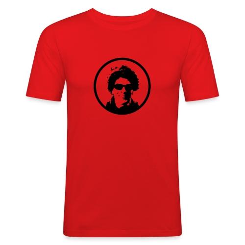 bommiikopf - Männer Slim Fit T-Shirt