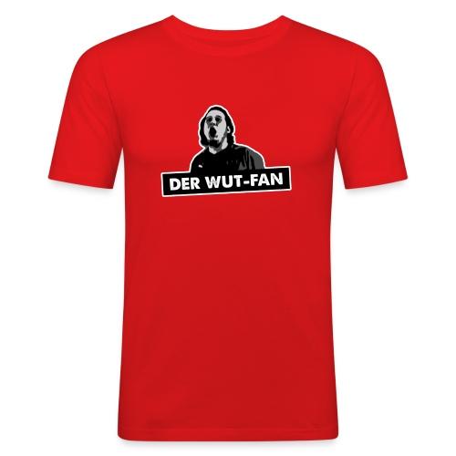 Wutfan stroke png - Männer Slim Fit T-Shirt