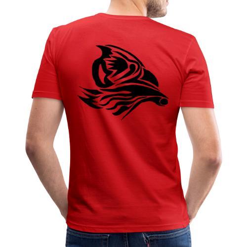 Aigle Abstrait - T-shirt près du corps Homme