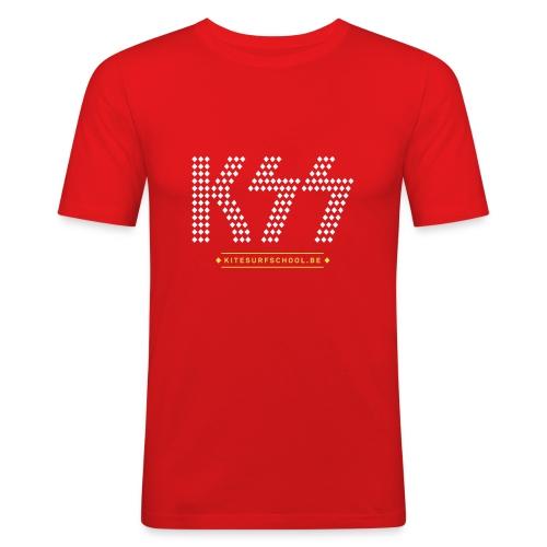 kss tshirt ksslikekiss 02 - Men's Slim Fit T-Shirt